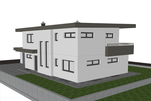 Planung  Einfamilienhaus 02